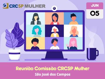 Reunião aberta da Comissão CRCSP Mulher (região São José dos Campos)