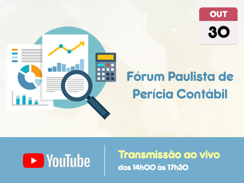 Transmissão Web ao Vivo – Canal do CRCSP no Youtube