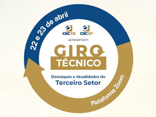 CRCSP e CRCTO realizam Giro Técnico, com painéis sobre os principais temas voltados ao Terceiro Setor