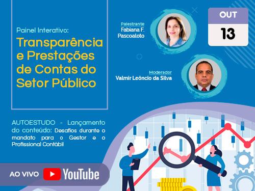 """Painel Interativo: """"Transparência e Prestações de Contas do Setor Público"""""""