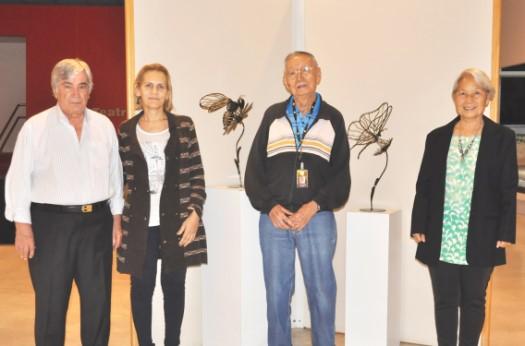 Obras sustentáveis em metal estão em exposição no CRCSP
