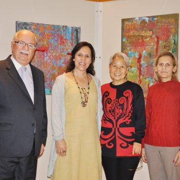 Sobreposição e harmonia no Espaço Cultural CRCSP