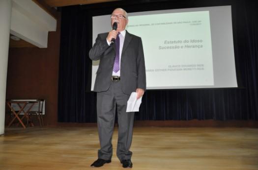 Palestra na sede do CRCSP apresenta direitos do idoso e de sucessão