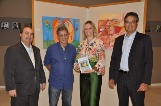 Presidente Marcia inaugura primeira exposição cultural do CRCSP no ano