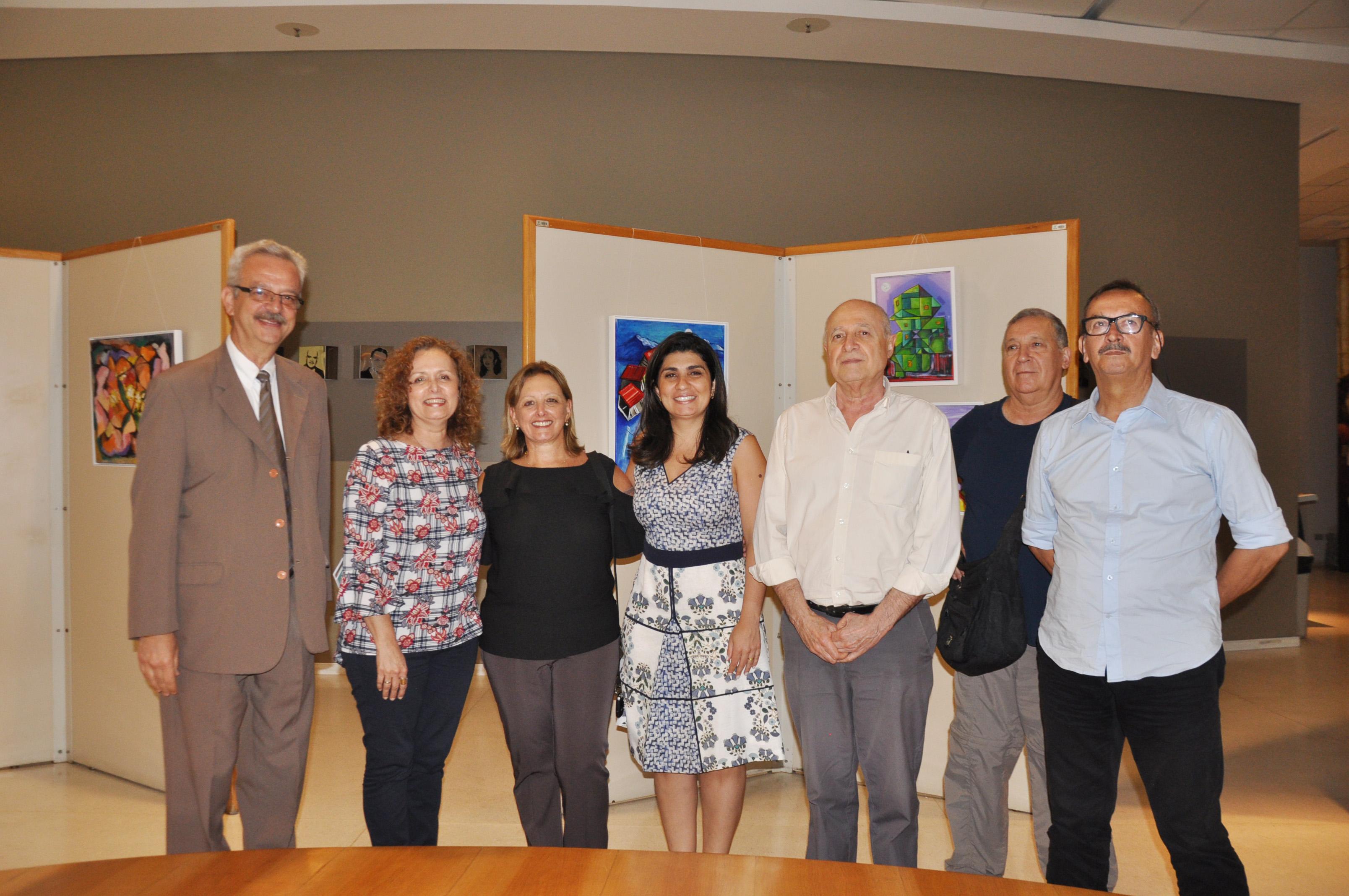 Espaço Cultural CRCSP tem exposição coletiva do Grupo de Arte Belenzinho