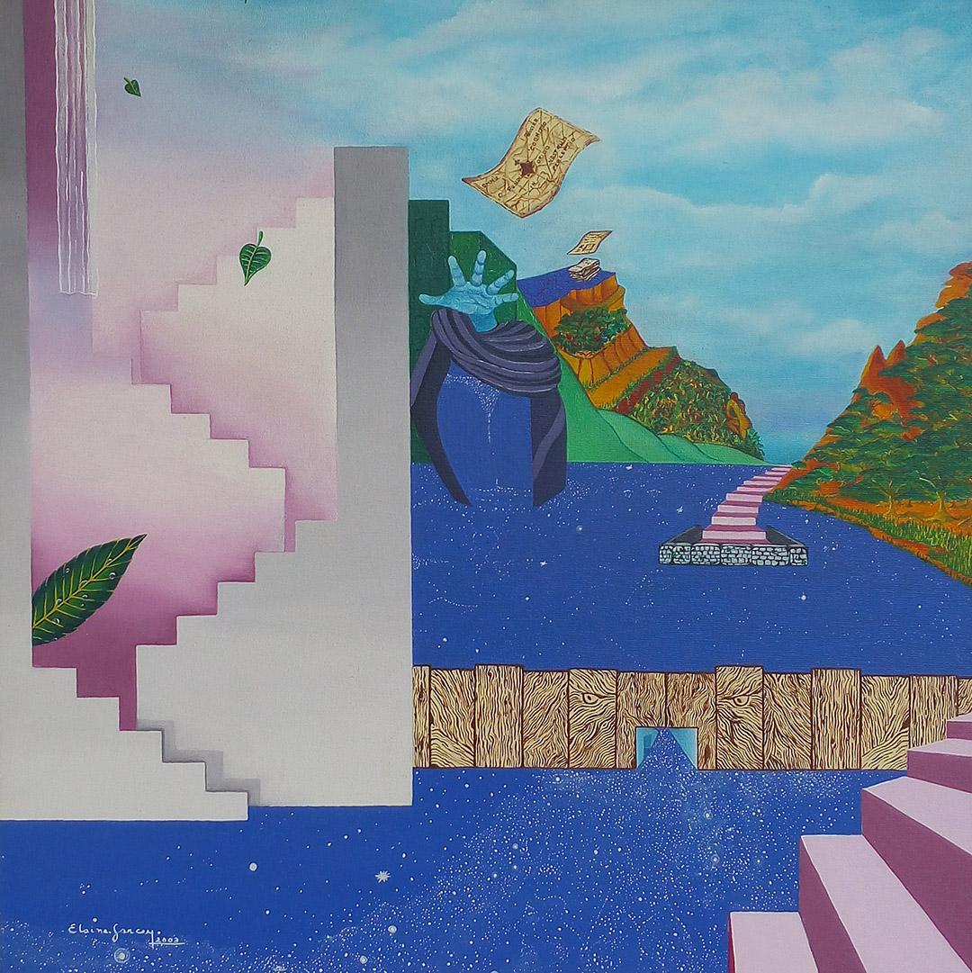 Exposição virtual do CRCSP apresenta a artista Elaine Garcez