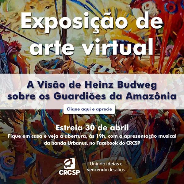CRCSP irá inaugurar exposição em homenagem aos povos indígenas do Brasil