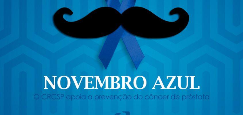 CRCSP apoia a campanha Novembro Azul, para a prevenção ao câncer de próstata
