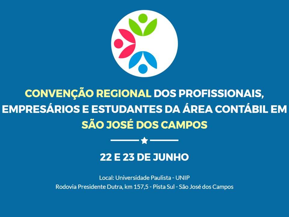 CONVENÇÃO REGIONAL DE CONTABILIDADE DE SÃO JOSÉ DOS CAMPOS