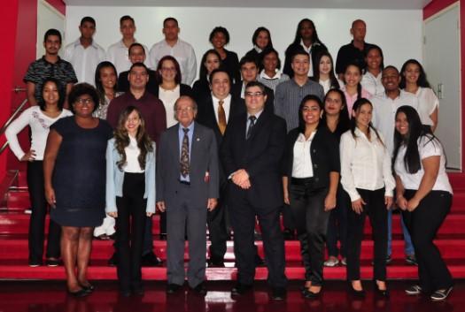 Estudantes no CRCSP