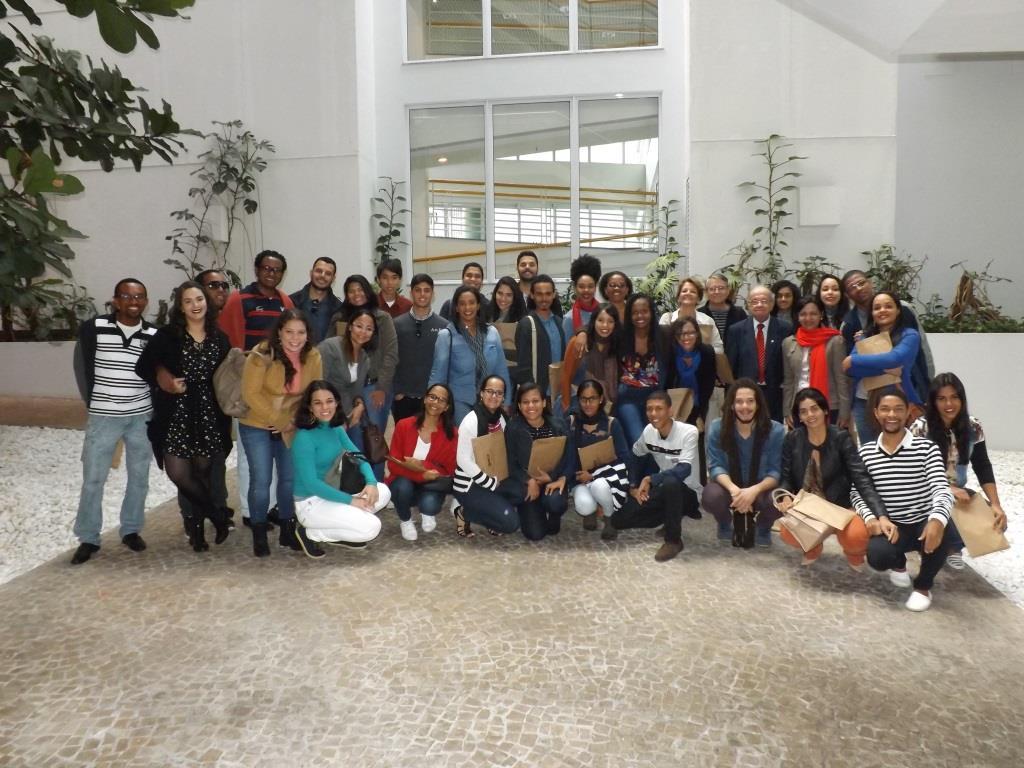 Estudantes paulistas e baianos visitam o CRCSP
