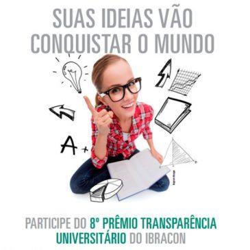 IBRACON  – Inscrição para o 8º Premio de Transparência Universitário – Participe!!!