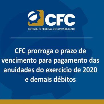 CFC prorroga o prazo de pagamento da anuidade