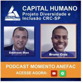 Conselheiro Bruno Cruz fala sobre iniciativas do CRCSP pela inclusão em entrevista para o Momento Anefac