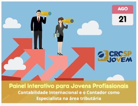 Estudantes podem participar do Painel: A escolha certa – Contabilidade Internacional e Especialista na área Tributária