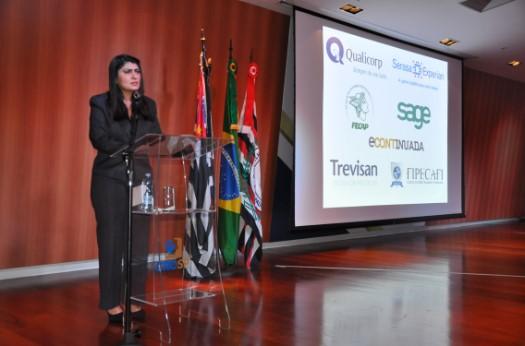 Conselheira do CRCSP é paraninfa em Solenidade de Entrega de Carteiras