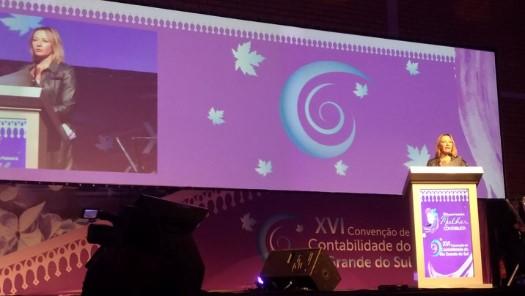 Vice-presidente do CRCSP coordena painel no XI Encontro Nacional da Mulher Contabilista