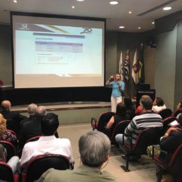 Vice-presidente Marcia faz palestra na ACSP