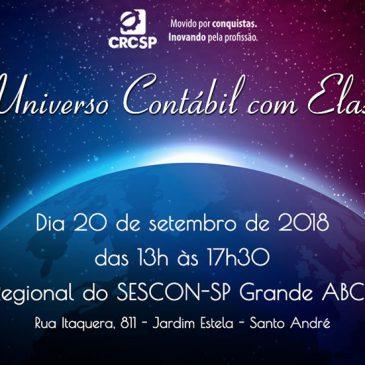 Universo Contábil Com Elas – 20/09/2018 – Santo André