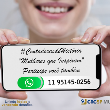 #ContadorasdeHistoria- envie vídeo de até 1 minuto