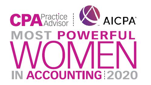 Anunciadas as vencedoras das mulheres mais poderosas em contabilidade em 2020