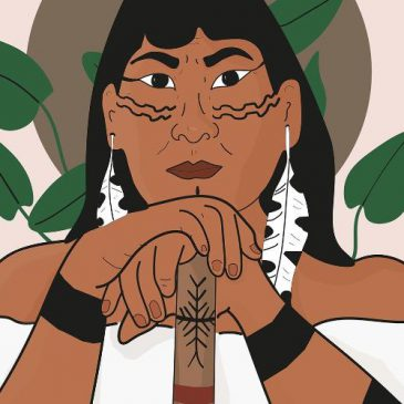 Conheça as histórias de mulheres indígenas que estão juradas de morte por combater a invasão de suas terras